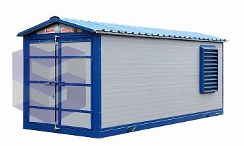 Блок-контейнер для винтовой компрессорной станции БККС-3