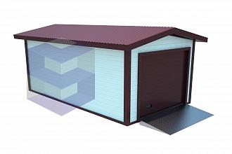 Одноместный гараж МГ-1