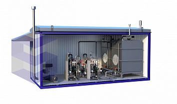 Блок-контейнер для кислородной компрессорной станции БККС-2
