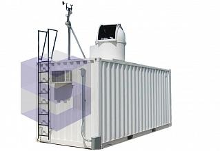 Блок-контейнер для метеорологической станции БКМ-2
