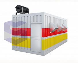Блок-контейнер для электростанции газового типа БКГЭ-2
